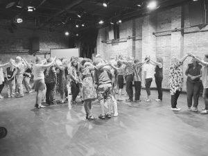 Le Grand Groupe en pleine explora(c)tion! Baltic Moreno Days © Photo: Linas Ciucelis